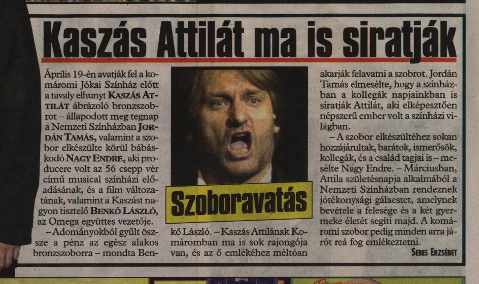 Attila Kaszás even today pitied  22.02.